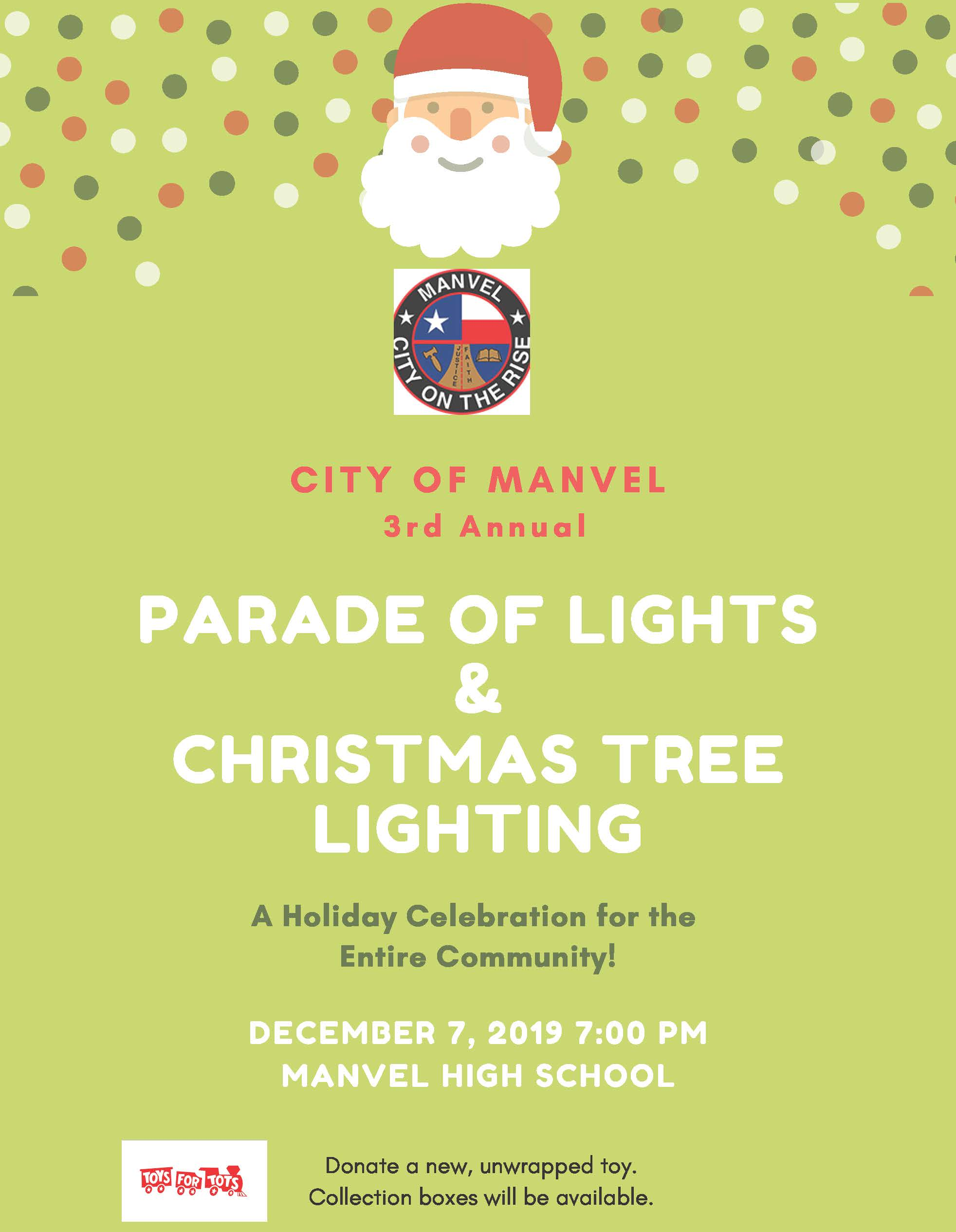 3RD ANNUAL PARADE OF LIGHTS_social media